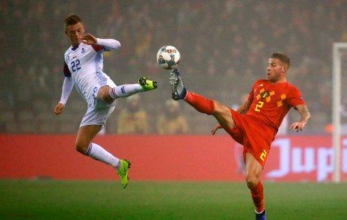 Timnas Belgia vs Islandia