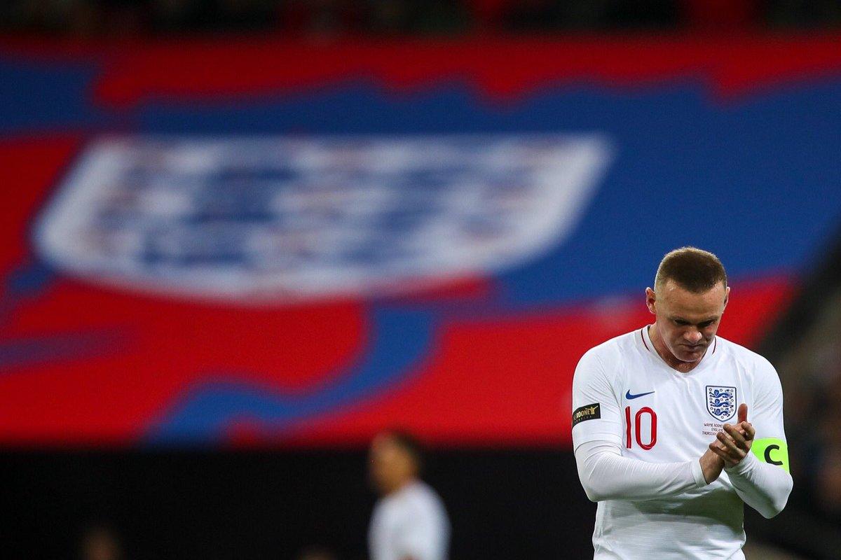 Wayne Rooney (Foto: Twitter Ruben Loftus-Cheek)