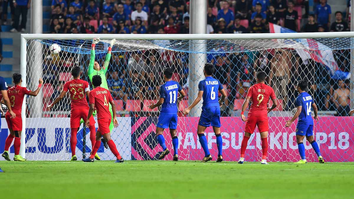 Timnas Indonesia vs Thailand (Foto: AFF)