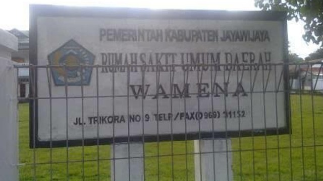 RSUD Wamena Papua. (Foto: Ist)