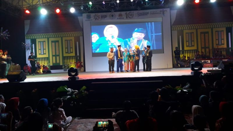 Pagelaran Lenong Betawi (Hambali/Okezone)