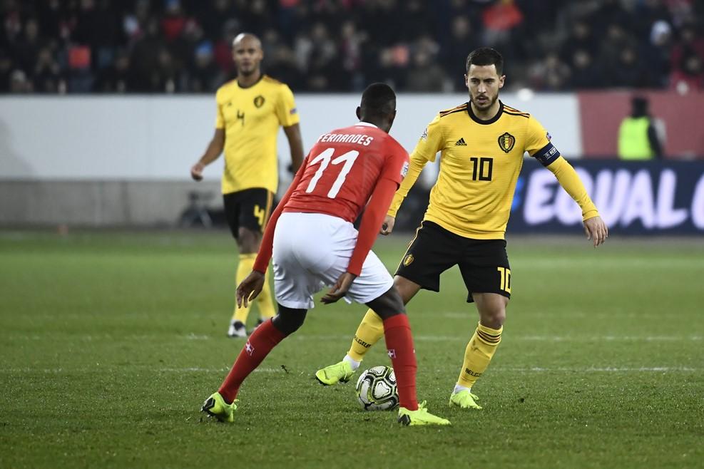 Swiss vs Belgia (Foto: UEFA)