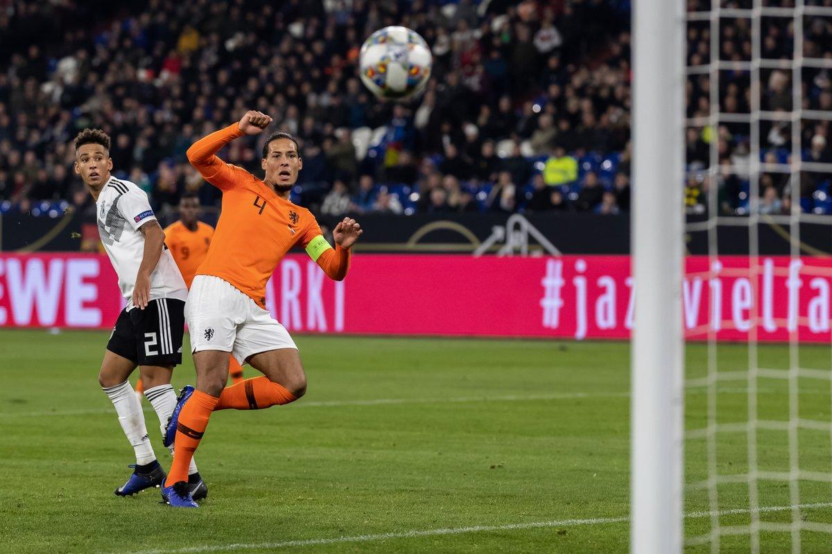 Virgil Van Dijk (Foto: Twitter UEFA Nations League)