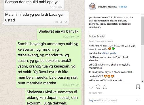 Memperingati Maulid Nabi Muhammad Saw Ustaz Yusuf Mansur Shalawat Dan Aksi Keummatan Okezone Lifestyle