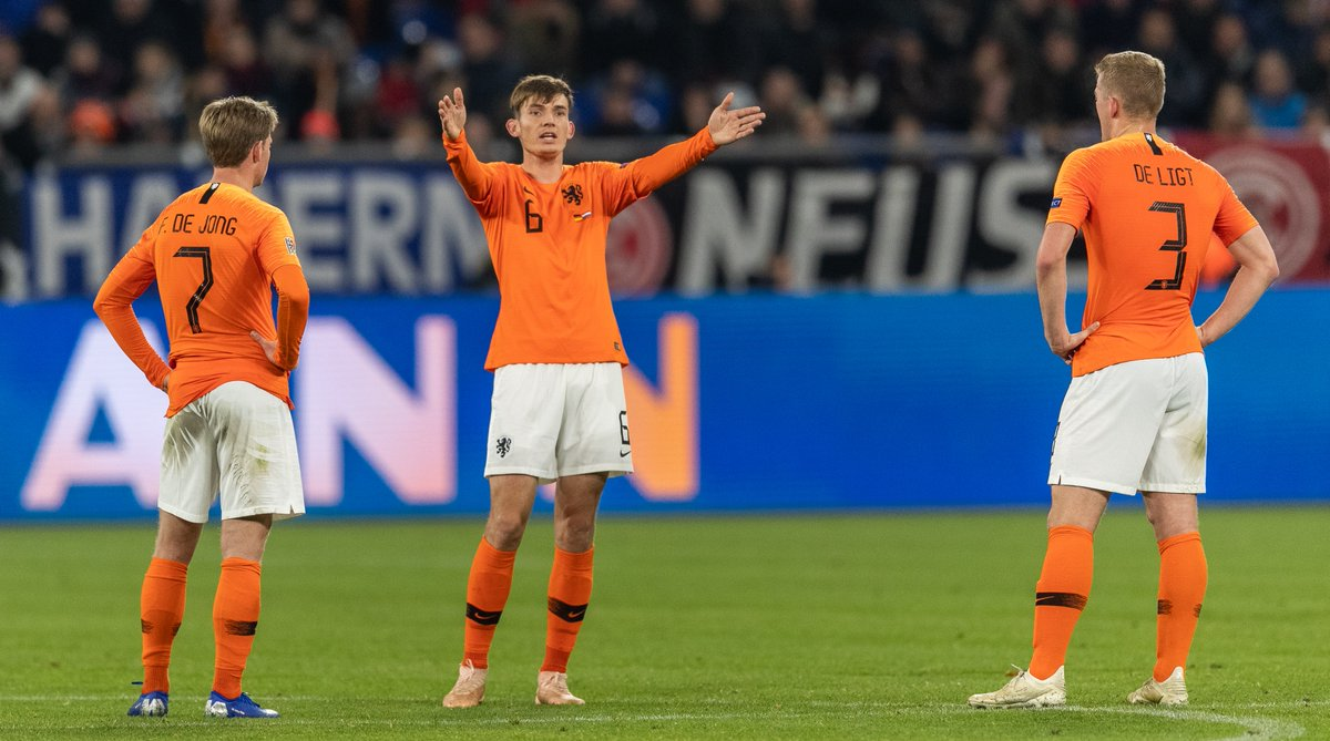 Jerman vs Belanda (Foto: Twitter UEFA Nations League)