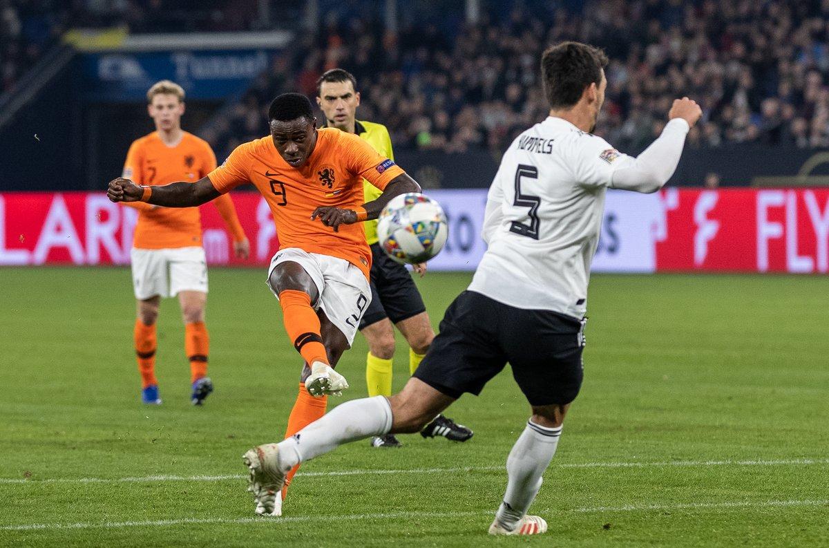 Jerman vs Belanda (Foto: Twitter UEFA Nations League)