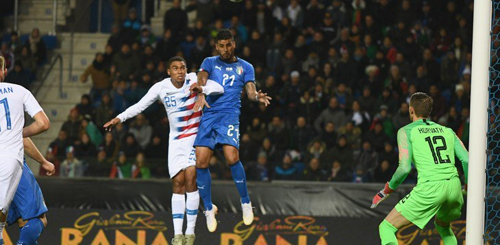 Italia vs Amerika Serikat