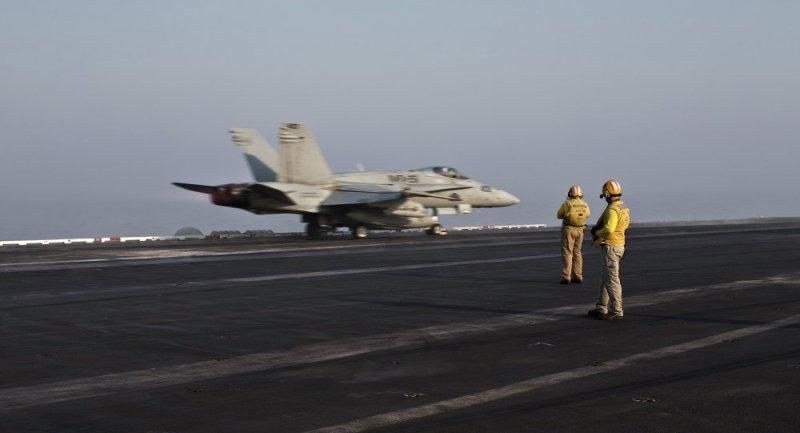 Pesawat tempur AS. (Foto: AP)