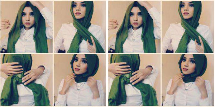 Ingin Coba Hijab Tanpa Jarum Pentul Begini Model Modelnya Yang Bisa Kamu Tiru Okezone Lifestyle