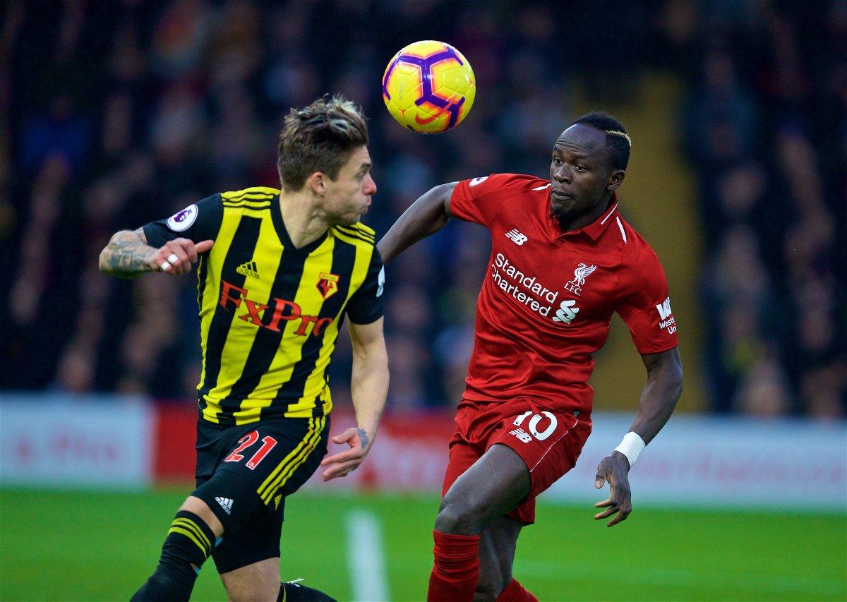 Watford vs Liverpool (Foto: Twitter Liverpool)