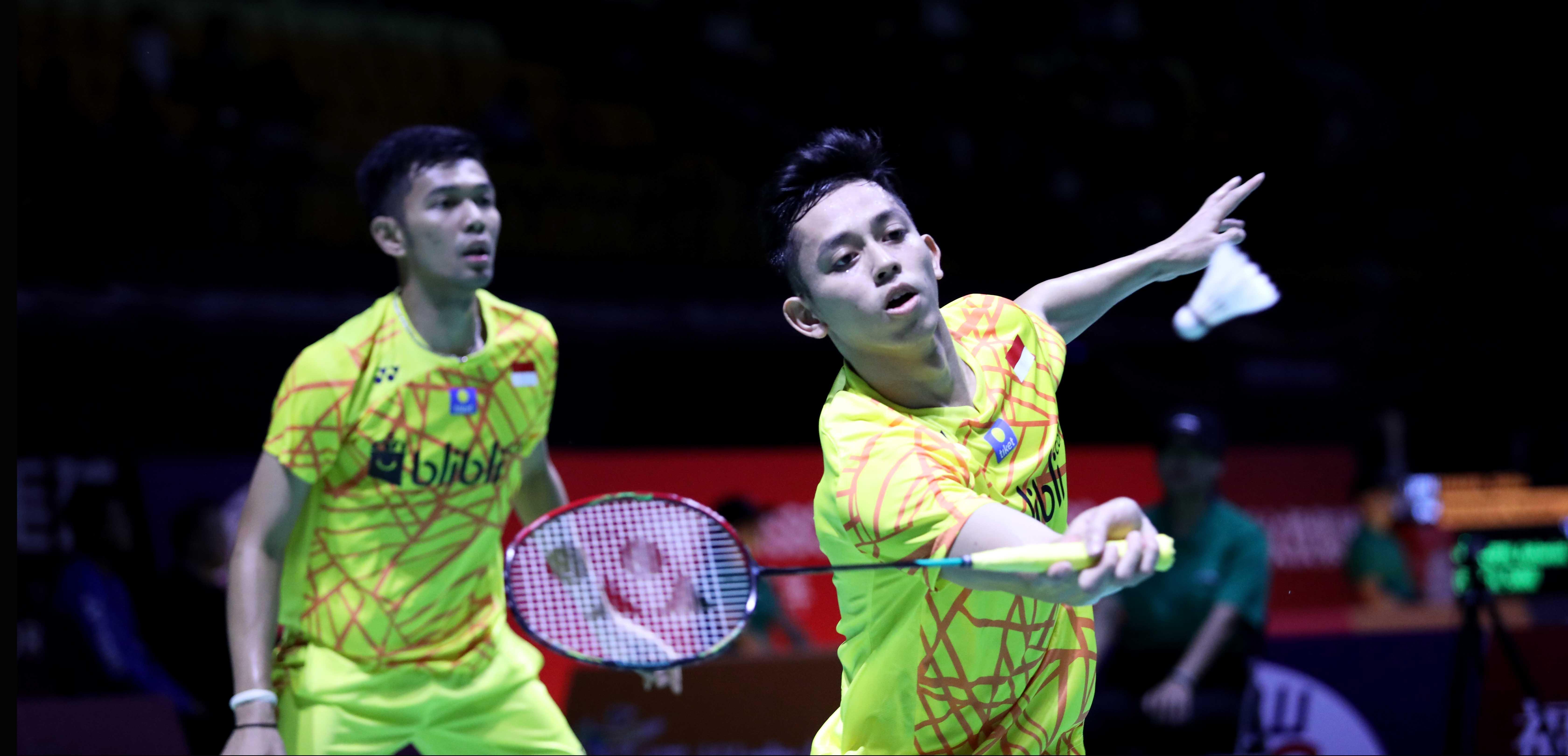 Fajar Alfian/Muhammad Rian Ardianto (Foto: PBSI)