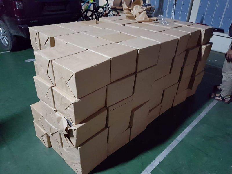 Ratusan Ribu Batang Rokok Ilegal Disita Bea Cukai Malang (foto: Avirista/Okezone)