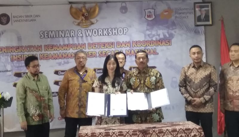 Kepala BSSN (Anggun Tifani/Okezone)