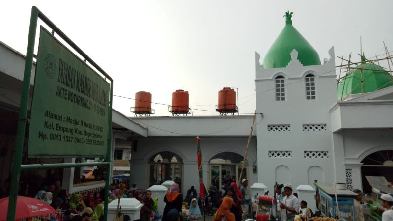 Makam Keramat Empang, Bogor, Jabar (foto: Putra RA/Okezone)