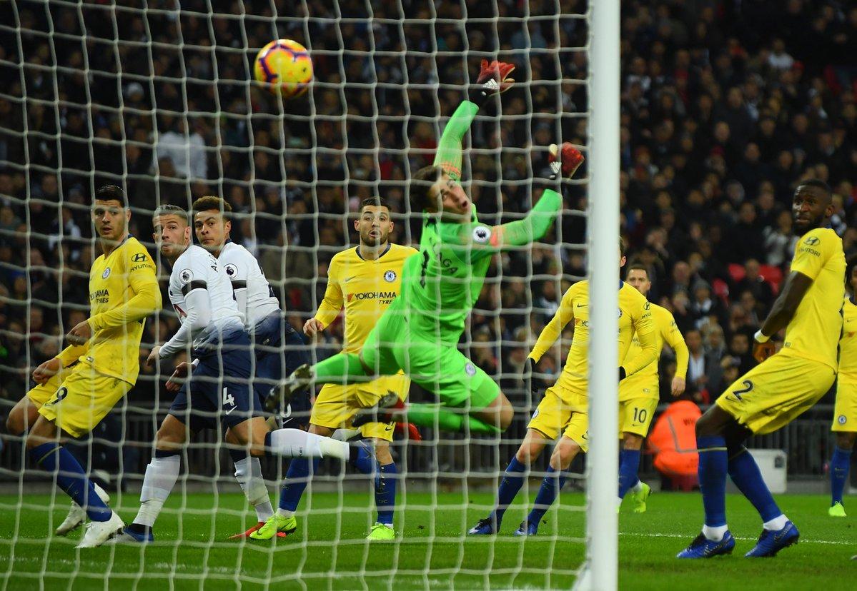 Spurs vs Chelsea (Foto: Twitter Spurs)