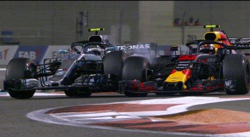 Valtteri Bottas vs Max Verstappen (Foto: Twitter F1)