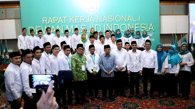 Rakernas DMI di Grand Hotel Sahid, Jakarta, Minggu (25/11/2018).