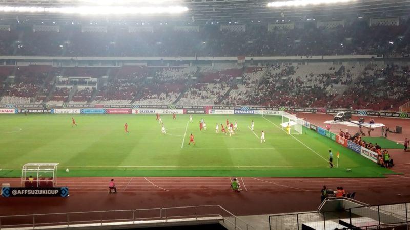 Timnas Indonesia vs Filipina (Foto: Rivan Nasri Rachman/Okezone)