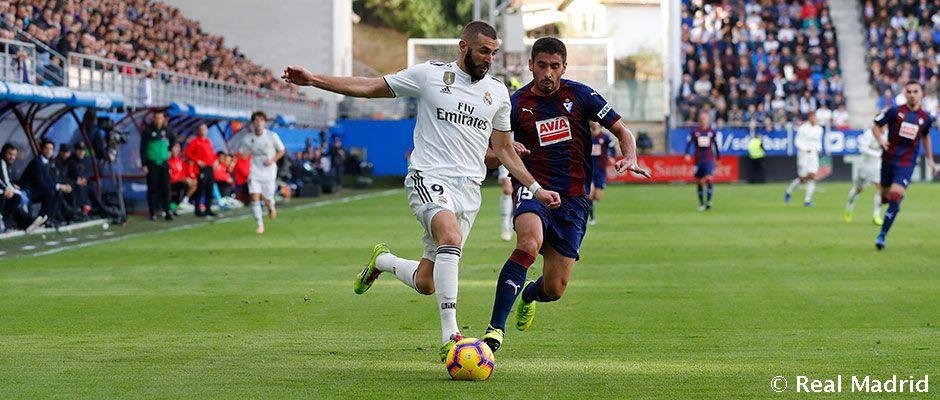Eibar vs Real Madrid (Foto: Twitter Madrid)