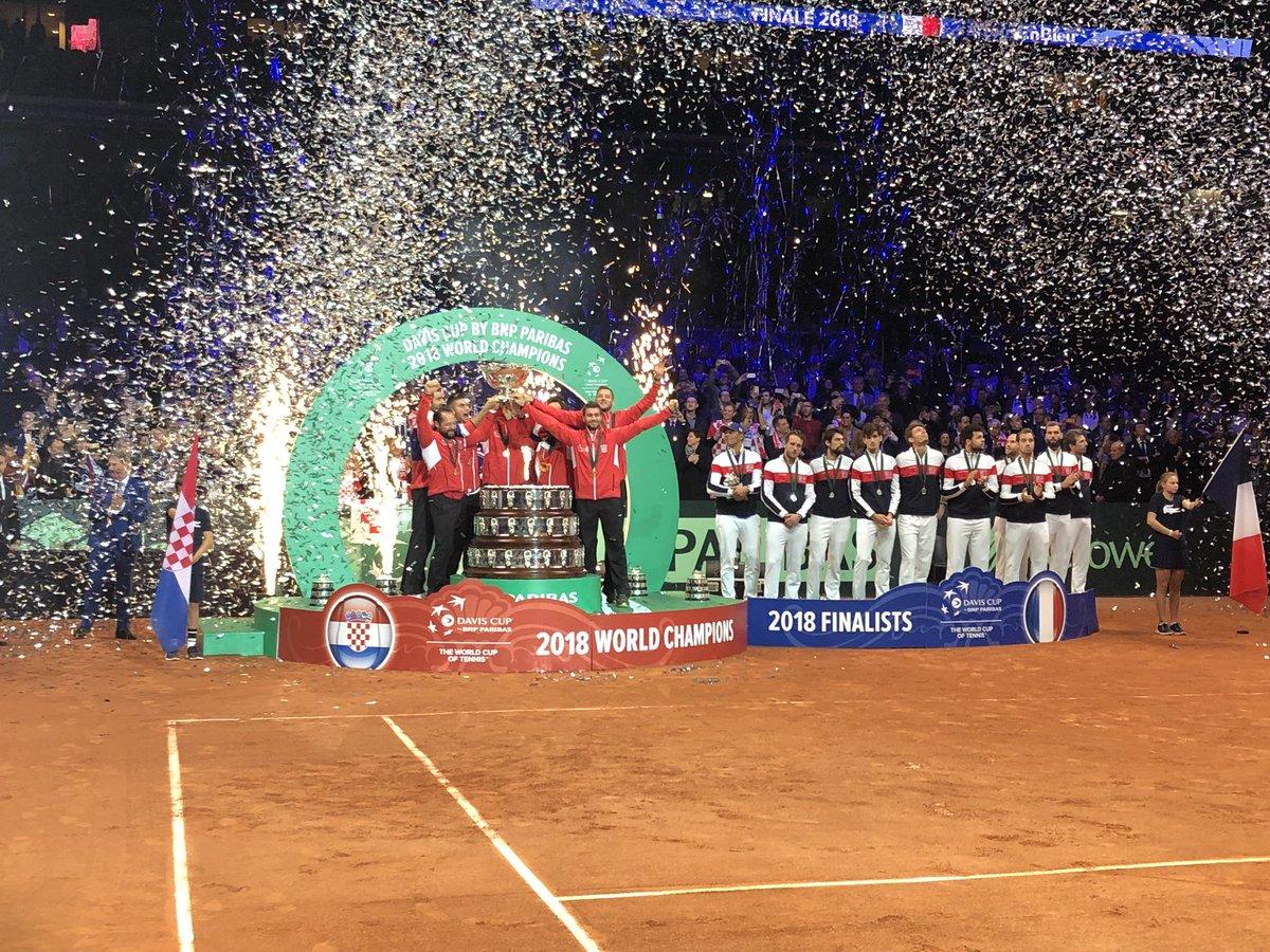 Tim Piala Davis Kroasia (Foto: laman resmi Piala Davis)