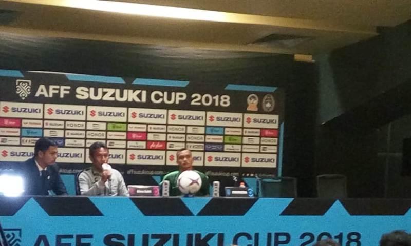Pelatih Timnas Indonesia Bima Sakti Tukiman