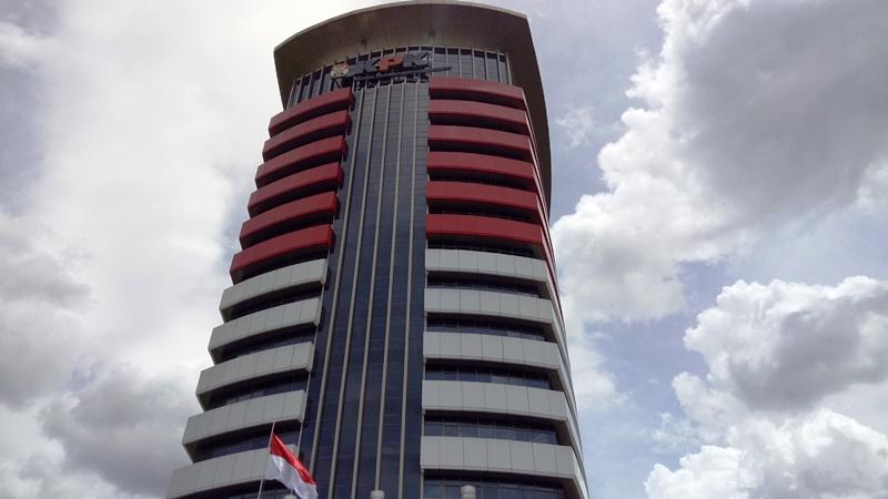 Gedung KPK. (Foto : Puteranegara Batubara/Okezone)