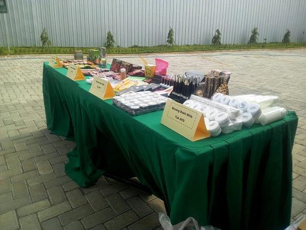 BBPOM Semarang tangkap 19 pengusaha obat-obatan dan makanan ilegal. (Foto : Taufik Budi)