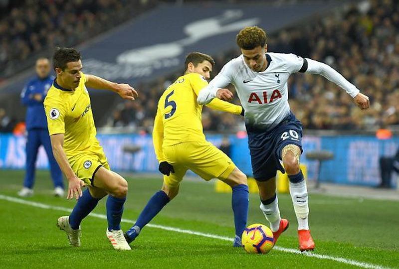 Laga Tottenham Hotspur vs Chelsea. Foto: Twitter Spurs