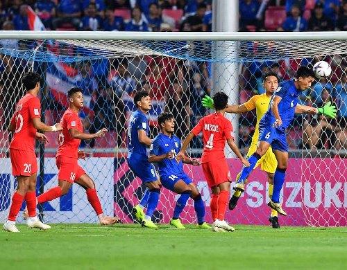 Timnas Thailand vs Singapura