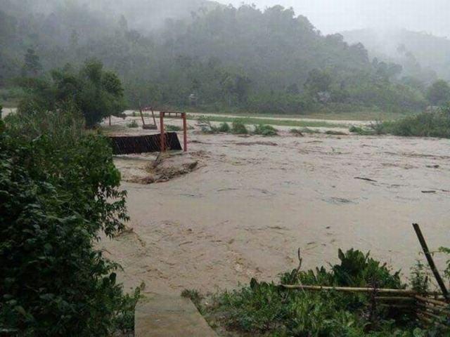 Ilustrasi luapan sungai. (Foto: Ist)