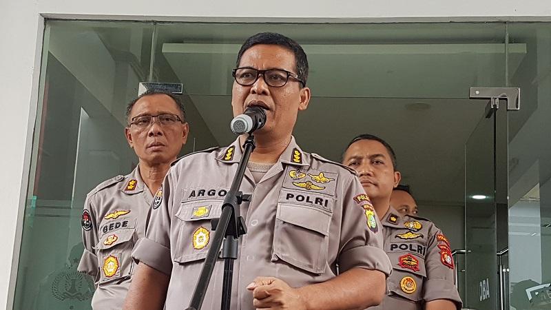 Kabid Humas Polda Metro Jaya Kombes Argo Yuwono. (Foto : Dok Okezone)