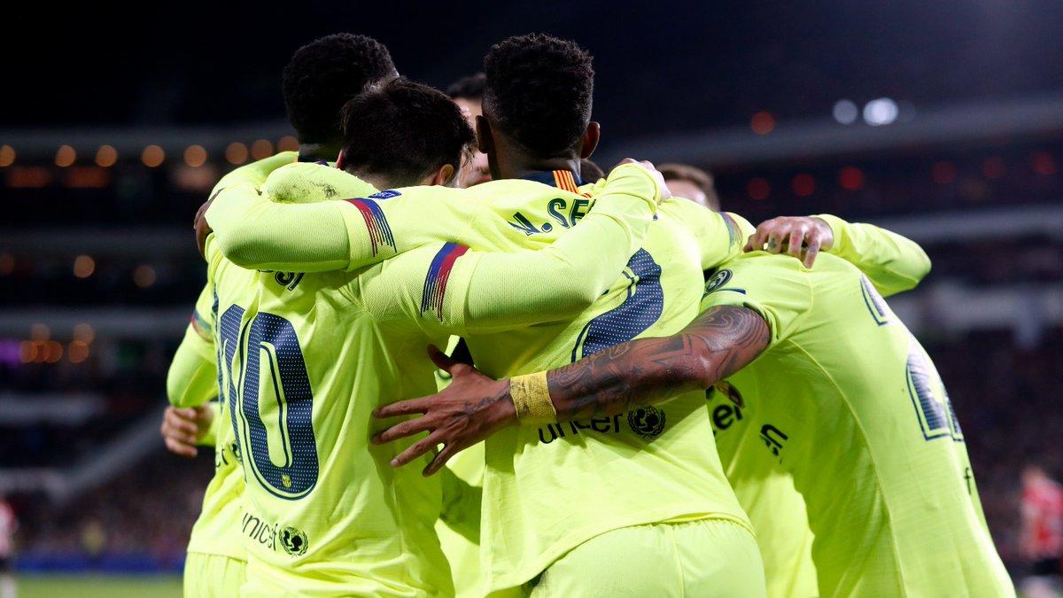 Barcelona (Foto: Twitter resmi Barcelona)