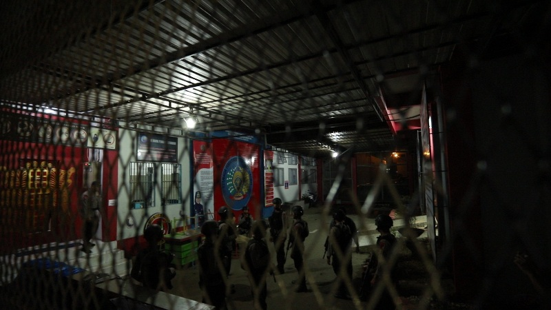Suasana di Lapas Banda Aceh pascarusuh. (Foto : Istimewa)
