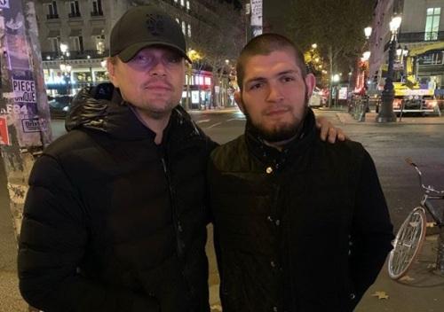 Khabib Nurmagomedov dan Leonardo Di Caprio