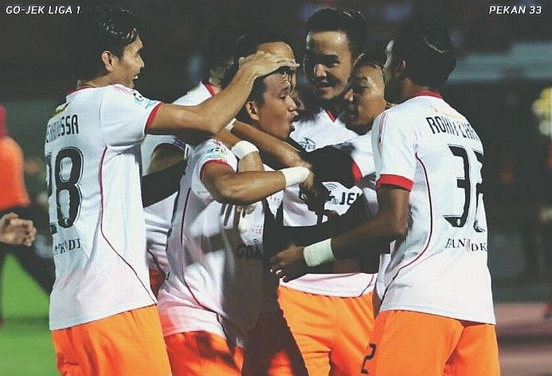 Para pemain Persija Jakarta