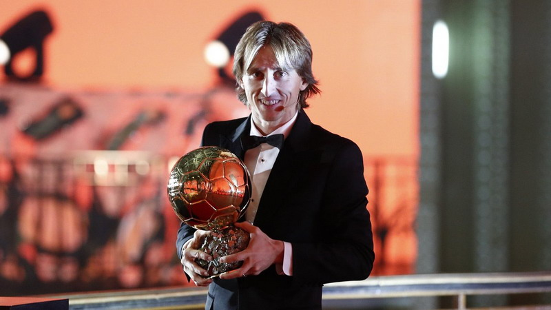 Luka Modric (Foto: Twitter Real Madrid)