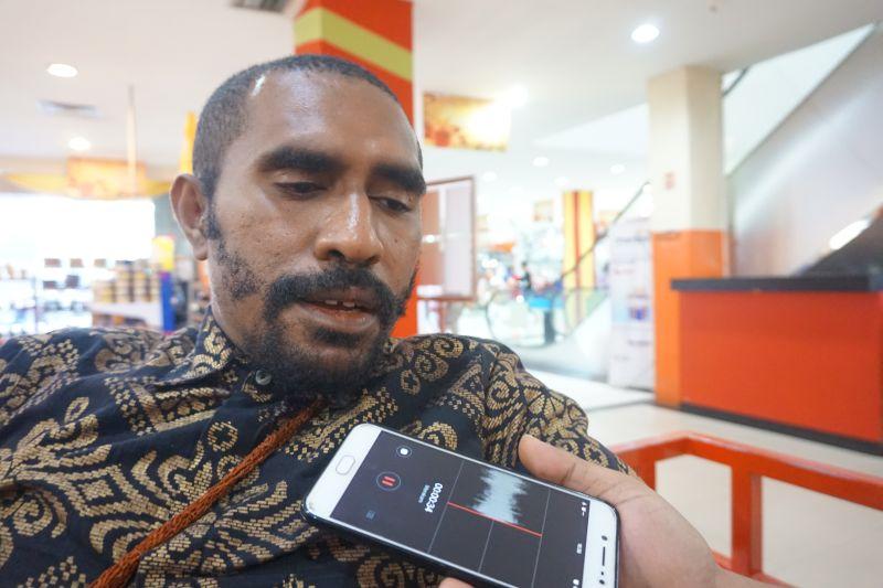 Ketua DPD Gerakan Cinta (Gercin) NKRI Alberth Ali Kabiay (Okezone)