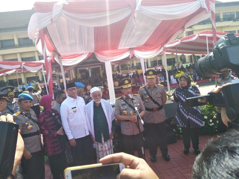 Kapolri Tito Karnavian Resmikan Kenaikan Polda Banten Jadi Tipe A (foto: Raysid Ridho/Sindo)