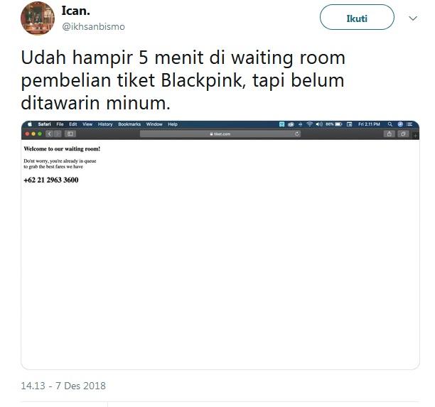 Tiket Blackpink