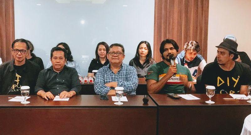 Perkenalan pemain Film Taufiq Kiemas di Jakarta