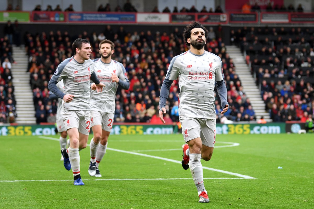Liverpool vs AFC Bournemouth (Foto: Twitter Liverpool)