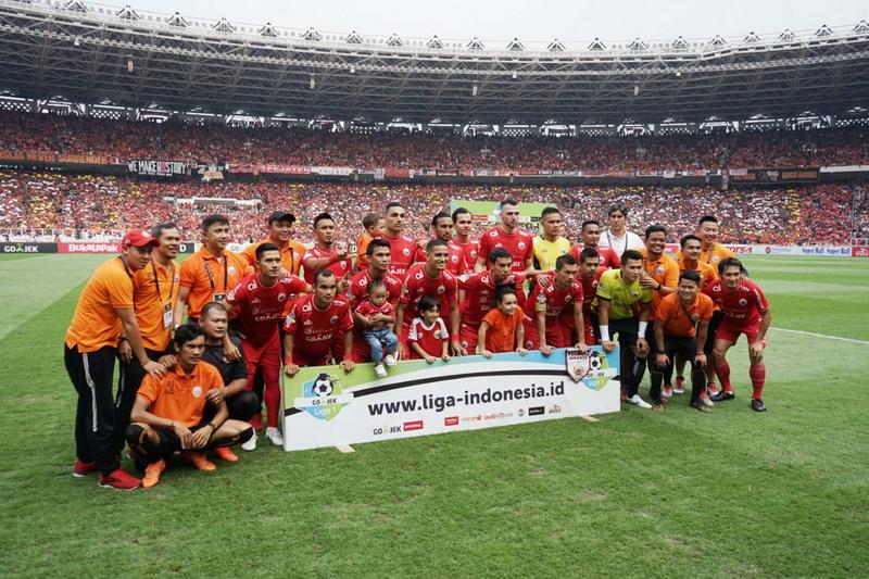 Persija Jakarta vs Mitra Kukar