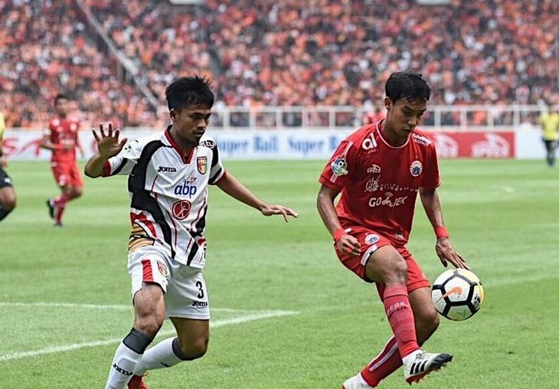 Persija Jakarta vs Mitra Kukar. Foto: Twitter Persija