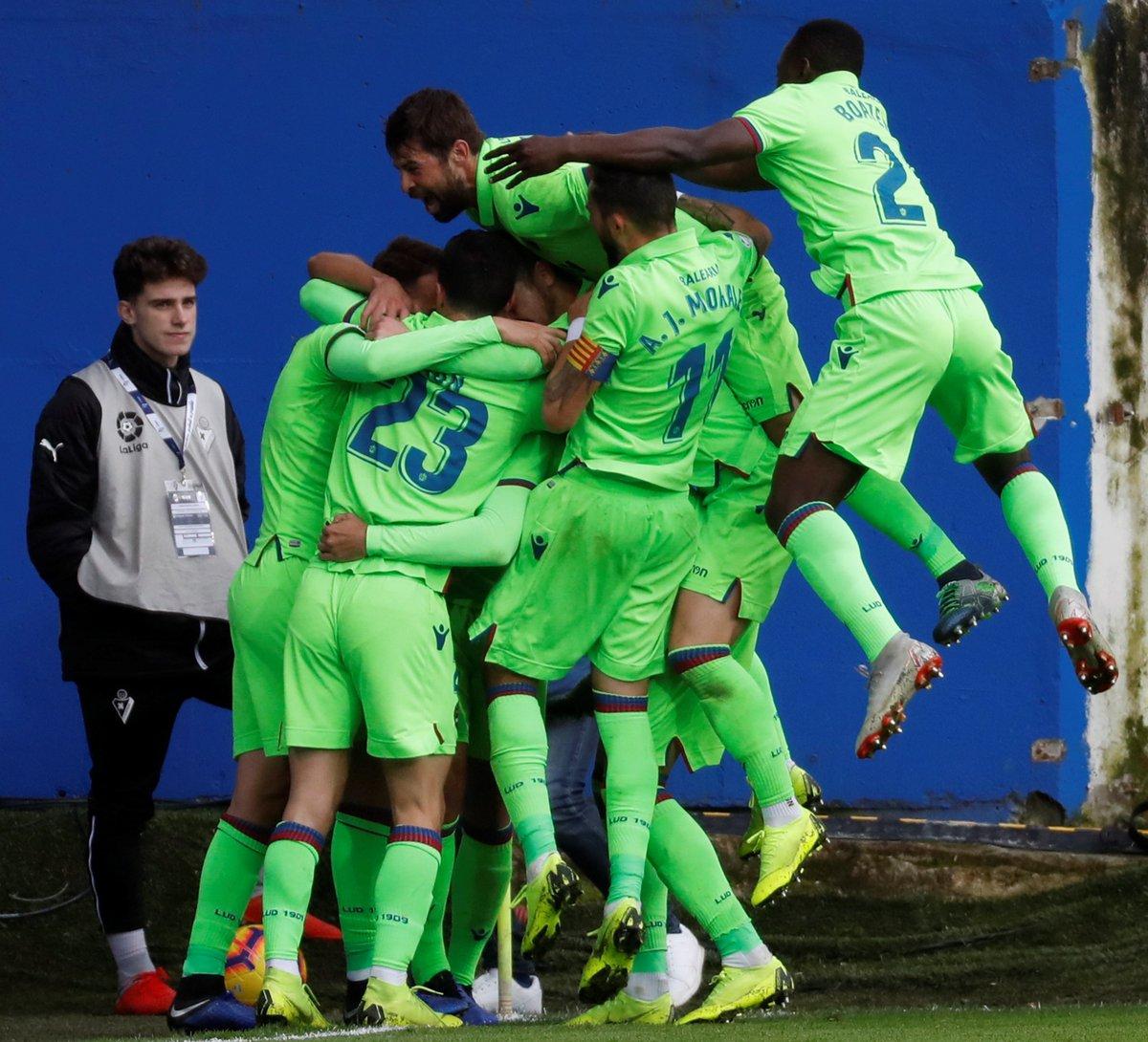 Levante (Foto: Twitter Liga Spanyol)