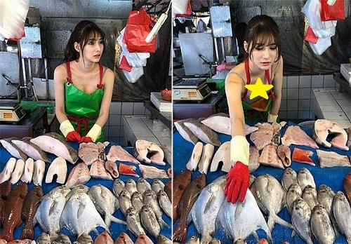 Penjual Ikan Cantik