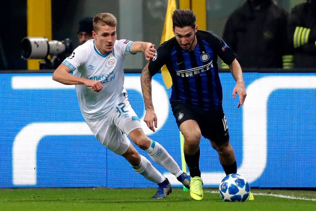 Inter Milan vs PSV (Foto: Twitter Inter Milan)
