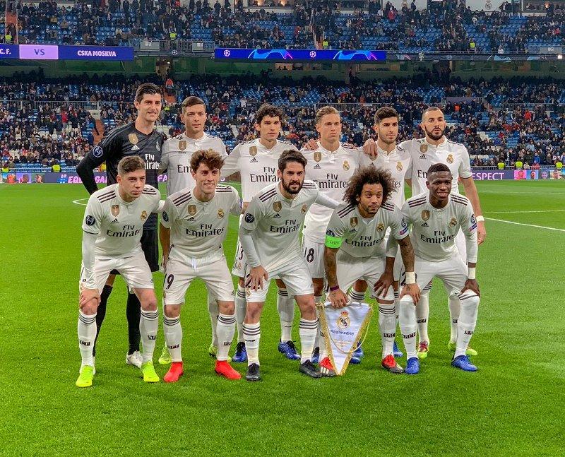 Real Madrid (Foto: Twitter Madrid)