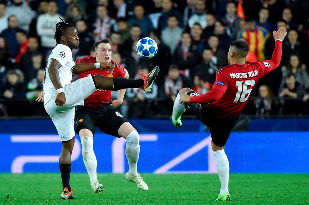 Valencia vs Man United (Foto: UEFA)