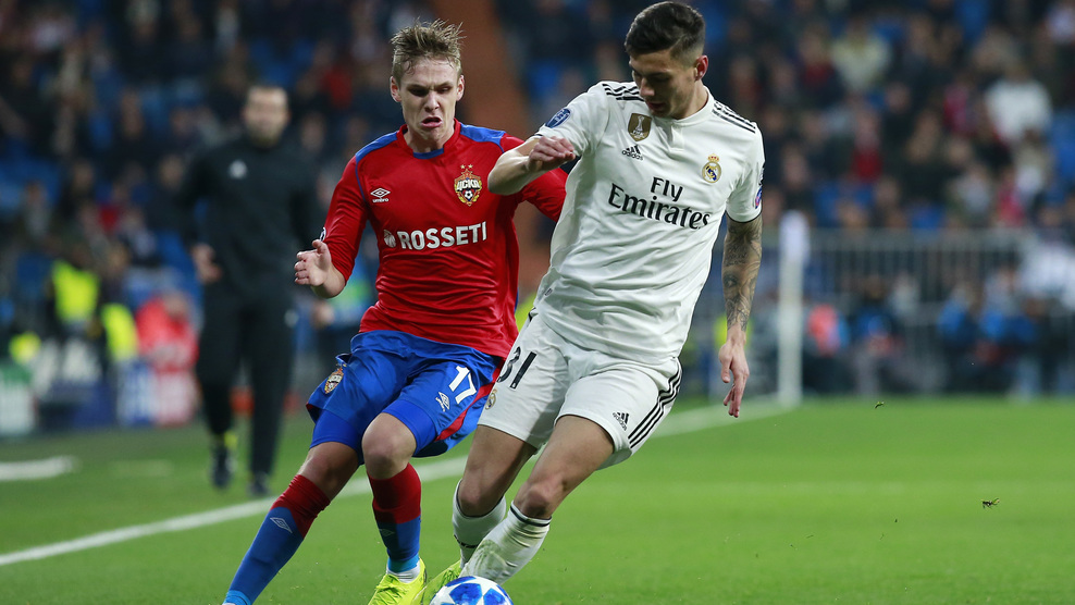 Javier Sanchez vs CSKA Moskow