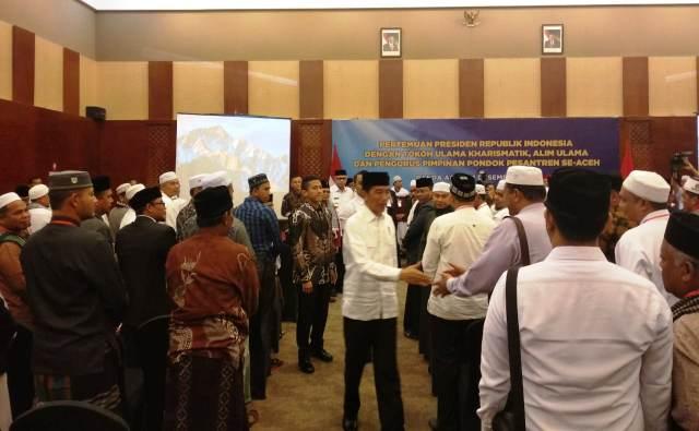 Jokowi di Aceh
